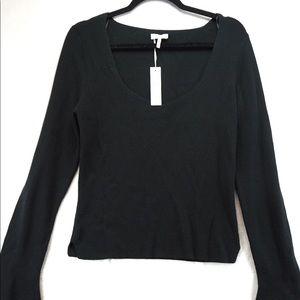Nwt Gentle Fawn Petunia black sweater
